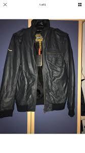 superdry medium leather premium benjamin leather jacket mens super dry brand superdry jackets superdry windcheater l superior quality