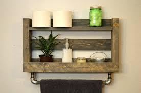wood towel rack with hooks. Towel Shelf With Bar Nickel In Shower Rack Wood . Chrome Hooks O