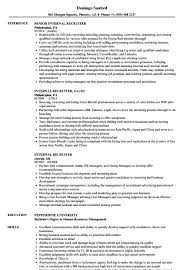Recruiter Resume Sample Recruiter Resume Hotelwareco 81