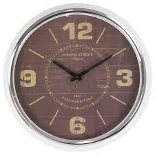 retro bond wall clock