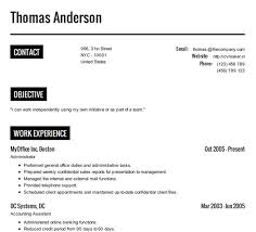 make a resume online