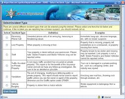 Epolicedepartment Com Serving Incident Reporting Needs For Police
