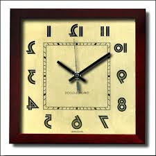 art wall clock uk