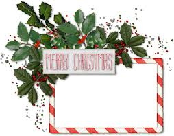 Christmas Photo Frames Templates Free Merry Christmas Border Transparent Png Clipart Free