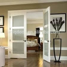 glass bedroom door 3 panel french doors modern privacy glass panel interior bedroom door manufacturer interior