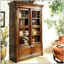 bookshelf with glass doors bookcases door pertaining to ideas 11