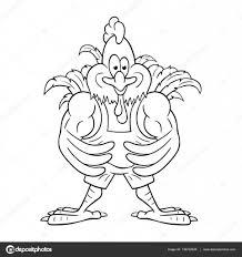 Cartoon Pik Bodybuilder Stockvector Vectol 136732628