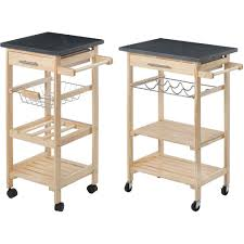 Granite Top Kitchen Trolley Kitchen Island Trolley Ebay