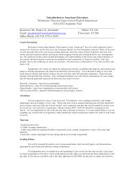 introduction to american literature lecture notes united state   the document