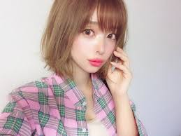 Miho On Twitter 前髪ありバージョン Colorcontacts