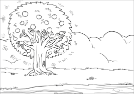 coloring pages of tree. Modren Pages That Person Is Like A Tree Planted By Streams Of Water Coloring Page In Coloring Pages Of T