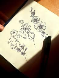 сделать татуировку цветы на ключица в городе оренбург по эскизу