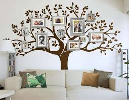 fullsize of snazzy family wall art family tree decal tree wall decal approx family