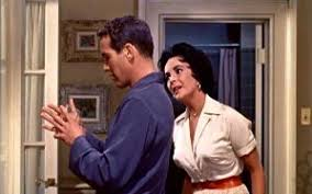 report on cat on a hot tin roof writework paul newman brick and elizabeth taylor maggie in an early scene from