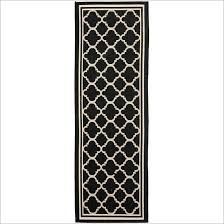 area rugs awe inspiring black and white striped runner rug for ideas 18