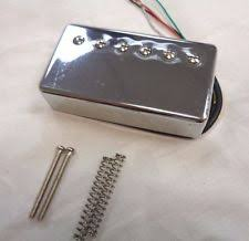 artec pickup artec vintage humbucker lpc210 bridge pickup chrome
