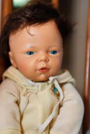 In 1980, Mattel released a Love 'n Touch Real Sister doll–the one-year-old sister to this baby doll. - dscf3214