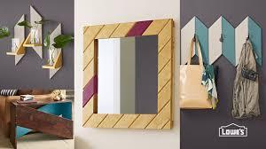 easy diy wooden mirror frame