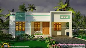 Small Three Bedroom House 3 Bedroom Small Budget House Plan Kerala Home Design And Floor Plans