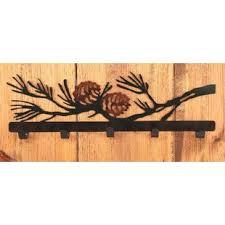 Pine Coat Rack Pine Cone Coat Rack Wayfair 40