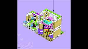 Lego House Plans Lego Friends 3315 Olivias House Building Instructions Youtube