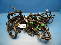 mitsubishi gt oem engine motor wiring harness loom base 96 99 mitsubishi 3000gt oem engine motor wiring harness loom base model dohc a t