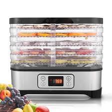 MEYKEY Professional Electric <b>Multi</b>-Tier Food Dehydrator Machine ...