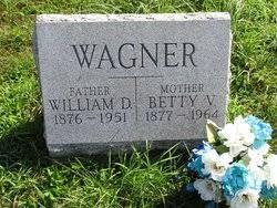 "Elizabeth Viola ""Betty"" Lantz Wagner (1877-1964) - Find A Grave Memorial"