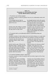 standards curriculum instruction and assessment mathematics  page 272