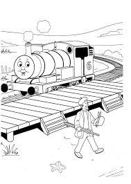 Free Printable Thomas The Train Coloring