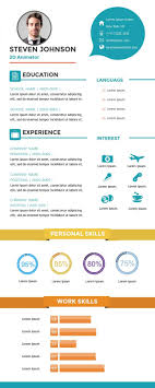 022 Infographic Resume Template Free Ideas Astounding Online Create
