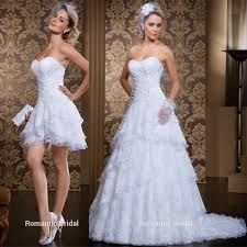Wedding Dresses 2 In 1 - Vosoi.com
