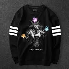 dota 2 invoker hoodies boys black defense of the ancients 2