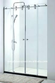 double shower doors glass fabulous glass double sliding doors door sliding glass shower door hardware home
