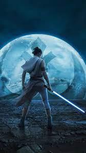 Rise of Skywalker Rey 4K Wallpaper ...