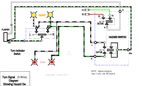 wiring a single flasher relay for indicators hazards