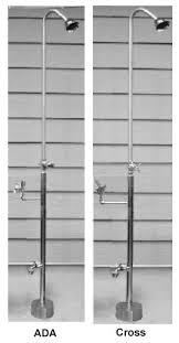 exterior shower fixtures. psdf-1500, freestanding outdoor shower exterior fixtures n