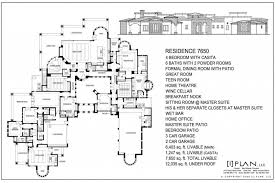 house plan 5 bedroom 2 story 5000 sq ft house floor plans stone and brick
