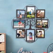decorative metal wrought iron picture frame