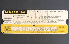 Metal Cutting Speed Chart Kennametal Cutting Speed Calculator Metal Cutting Decimal