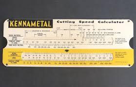Kennametal Cutting Speed Calculator Metal Cutting Decimal