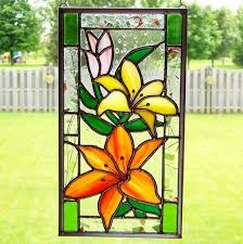 easy glass painting designs