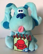 mailbox blues clues plush. 1998 Eden Blues Clues Plush Blue Dog Handy Dandy Notebook Embroidered Eyes 10\ Mailbox