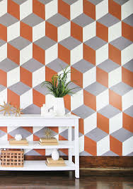 projects how to paint a diy cube wall