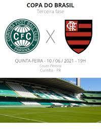 Coritiba x Flamengo: veja onde assistir, escalações, desfalques e  arbitragem | copa do brasil
