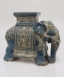 blue elephant garden stool best