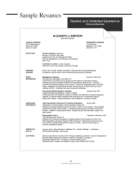 Resume Objective General | Resume For Study