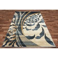 blue and cream area rug designs throughout plans 10