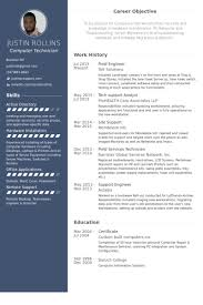 Field Engineer Resume samples