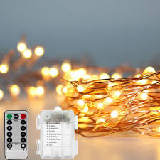 Firefly String Lights Mesmerizing 32M 32M Waterproof Battery Operated 32 Mode Timed Control Dimmable